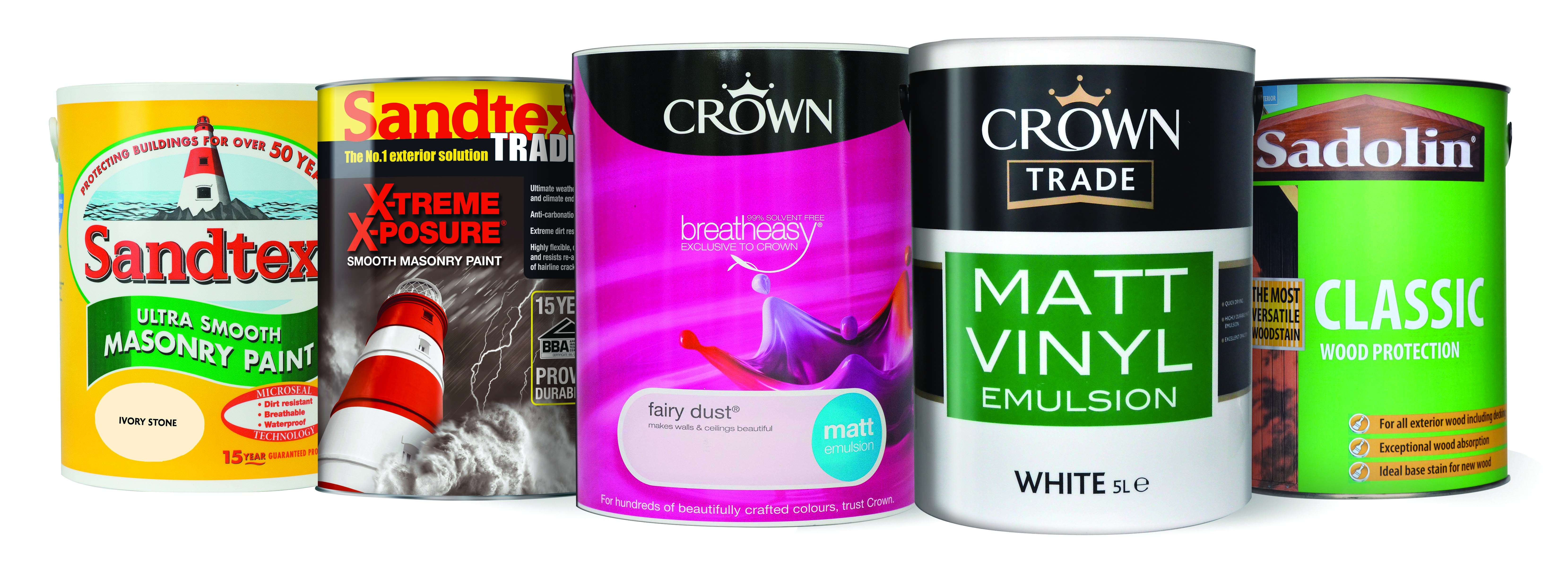 Crown Paints Manufacturing Sites Uk